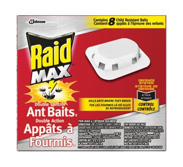 Appâts à fourmis double action, 8 unités