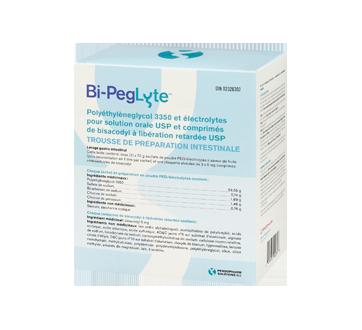 Image 4 du produit Bi-Peglyte - Bi-Peglyte trousse de préparation intestinale, 1 unité