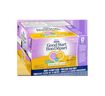 Image 2 du produit Nestlé - Bon Départ 1 avec oméga et GOS prêt à servir, 16 x 250 ml