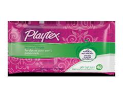 Image du produit Playtex - Serviettes pour soins personnels – 48 recharges  , (14.6 cm x 19.8 cm)