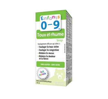enfants 0 9 toux et rhume sirop 100 ml fruits homeocan homeocan jean coutu. Black Bedroom Furniture Sets. Home Design Ideas