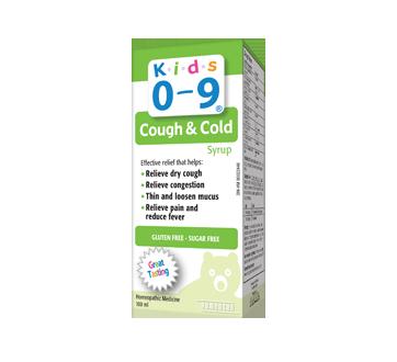 Image 2 du produit Homeocan - Enfants 0-9 Toux et Rhume sirop, 100 ml, fruits