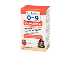 Image du produit Homeocan - Enfants 0-9 Homeocoksinum casse-grippe, 25 ml, framboise