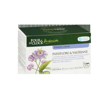 Image 3 du produit Four O'Clock Herboriste - Tisane calme, 20 unités, passiflore & valériane