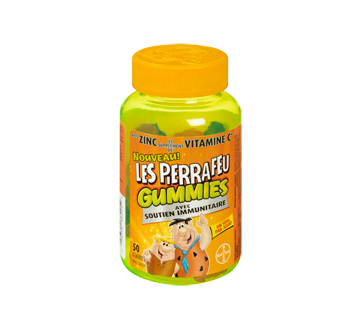 Image du produit Les Pierrafeu - Les Pierrafeu Gummies + soutien immunitaire, 50 unités