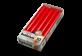 Vignette du produit Bolsius - Bougies de table, 10 unités, rouge