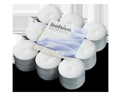 Image du produit Bolsius - Bougies chauffe-plat parfumées, 18 unités, linge frais