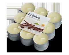 Image du produit Bolsius - Bougies chauffe-plat parfumées, 18 unités, vanille