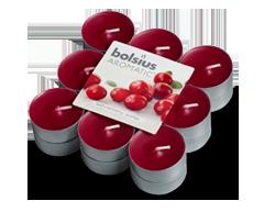 Image du produit Bolsius - Bougies chauffe-plat parfumées, 18 unités, airelles