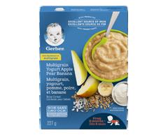 Image du produit Nestlé - Gerber blé, yogourt, pomme, poire et banane, 227 g