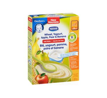 Image 2 du produit Nestlé - Gerber blé, yogourt, pomme, poire et banane, 227 g