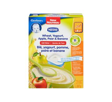 Image 3 du produit Nestlé - Gerber blé, yogourt, pomme, poire et banane, 227 g