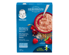 Image du produit Nestlé - Gerber, 227 g, cerises et baies