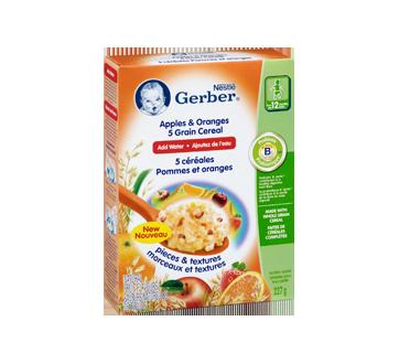 Image 2 du produit Gerber - Gerber 5 céréales, 227 g, pommes et oranges