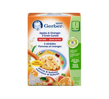 Image 3 du produit Gerber - Gerber 5 céréales, 227 g, pommes et oranges