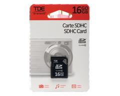 Image du produit TDE - Carte SDHC 16 Go , 1 unité
