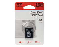 Image du produit TDE - Carte SDHC 16 Go