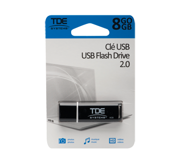 Clé USB 2.0 8 Go, 1 unité