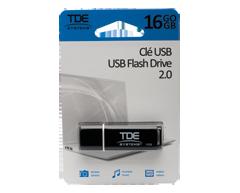 Image du produit TDE - Clé USB 2.0 16 Go