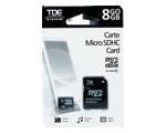 Carte micro SDHC 8 Go