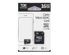 Image du produit Home Exclusives - Micro SDHC Card, 1 unité, 16 GO