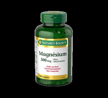 Image du produit Nature's Bounty - Magnésium 500 mg plus électrolytes, 150 unités