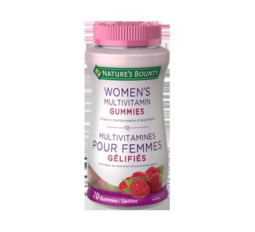 Image du produit Nature's Bounty - Multivitamines gélifées pour femmes, 70 unités