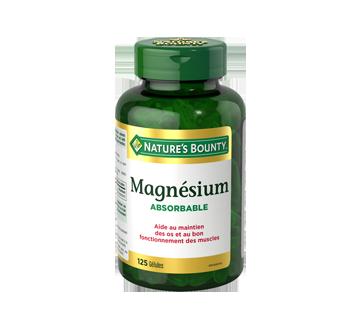 Image du produit Nature's Bounty - Magnésium, 125 unités
