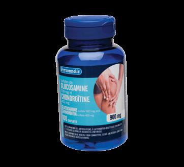 Image du produit Personnelle - Sulfate de glucosamine et chondroïtine, caplets 900 mg, 100 unités
