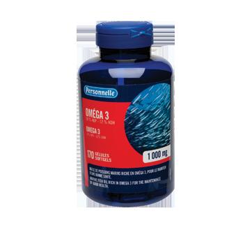 Image du produit Personnelle - Oméga 3, gélules 1 000 mg, 170 unités