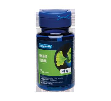 Image du produit Personnelle - Ginkgo Biloba, capsules 40 mg, 72 unités