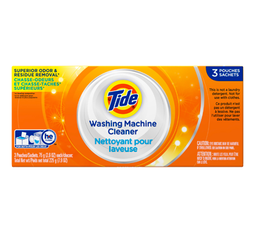 Nettoyant pour laveuse, 3 unités