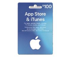 Image du produit Incomm - Carte-cadeau iTunes de 100 $