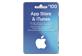 Vignette du produit Incomm - Carte cadeau App Store & iTunes de 100$, 1 unité