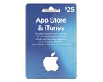 Carte-cadeau iTunes de 25 $