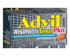 Image du produit Advil - Advil Rhume et Sinus Plus, 40 caplets