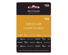 Image du produit Incomm - Carte-cadeau Reitmans de 25 $, 1 unité