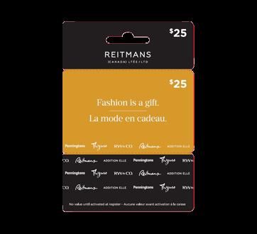 Carte-cadeau Reitmans de 25 $, 1 unité