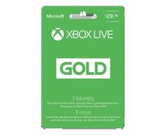 Image du produit Incomm - Abonnement Xbox Live Gold pour 3 mois