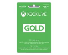 Image du produit Incomm - Abonnement Xbox Live Gold pour 12 mois