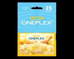 Image du produit Incomm - Carte-cadeau Cineplex de 25 $, 1 unité