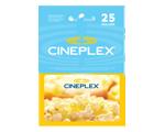 Carte-cadeau Cineplex de 25 $