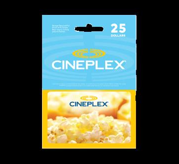 Carte Cadeau Cineplex.Carte Cadeau Cineplex De 25 1 Unite Incomm Cartes