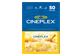 Vignette du produit Incomm - Carte-cadeau Cineplex de 50 $, 1 unité