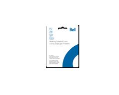 Image du produit Incomm - Cartes prépayées pour cellulaires Bell Mobilité de 50 $