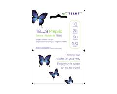 Image du produit Incomm - Cartes prépayées pour cellulaires TELUS 100 $