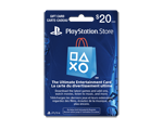 Carte-cadeau PlayStation® Store de 20 $