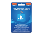Carte-cadeau PlayStation® Store de 50 $