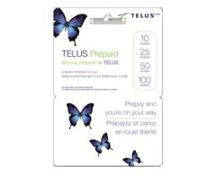 Image du produit Incomm - Cartes prépayées pour cellulaires TELUS 50 $, 1 unité