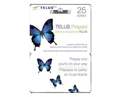 Image du produit Incomm - Cartes prépayées pour cellulaires TELUS 25 $, 1 unité